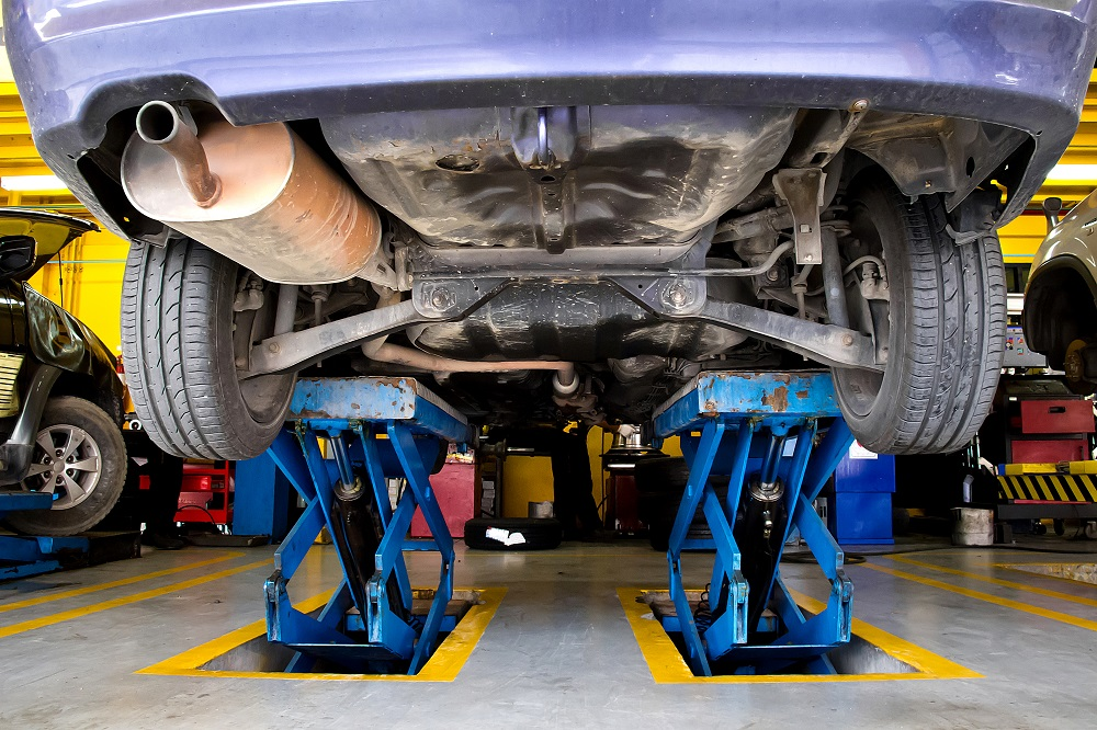 Computerized 4 wheel alignment